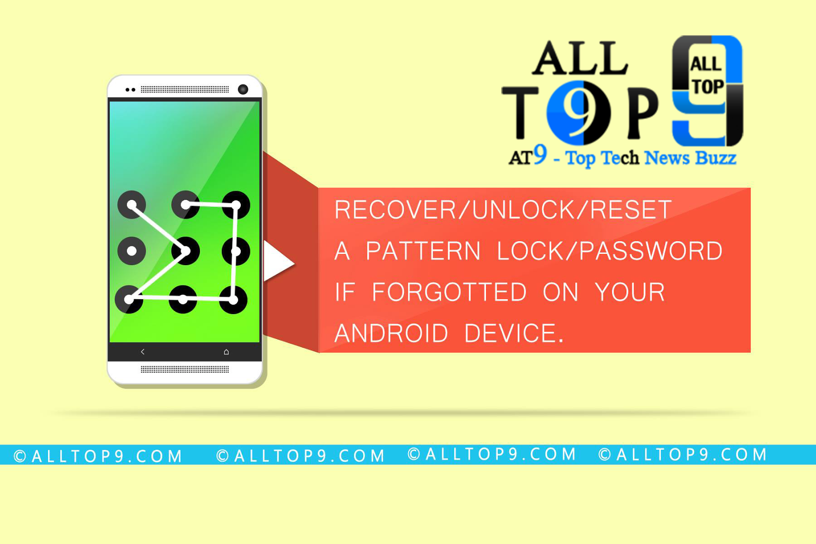 Recover or Unlock or Reset a Pattern Lock orPassword if Forgotted on an Android Device