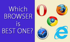 which browser is best one