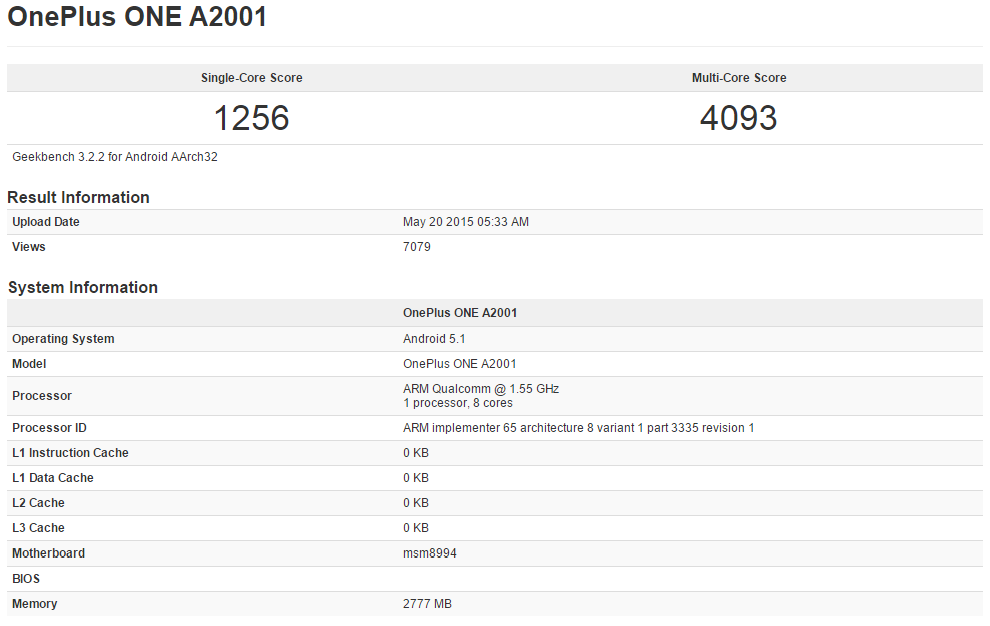 OnePlus-A2001-Geekbench