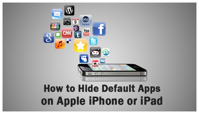 how to hide apps iphone how to hide default apps on apple iphone or 17170