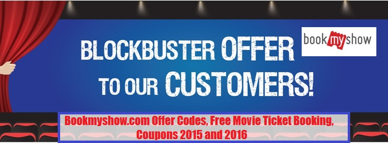 Bookmyshow offer coupons today