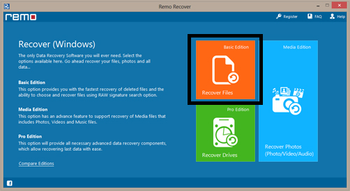 Recover deleted files- Windows 8 Recovery Software