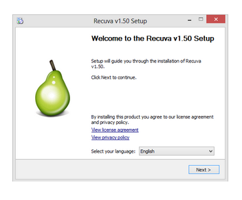 Recuva - Recover permanently deleted files