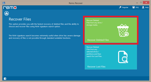 Windows 8- Recover deleted files