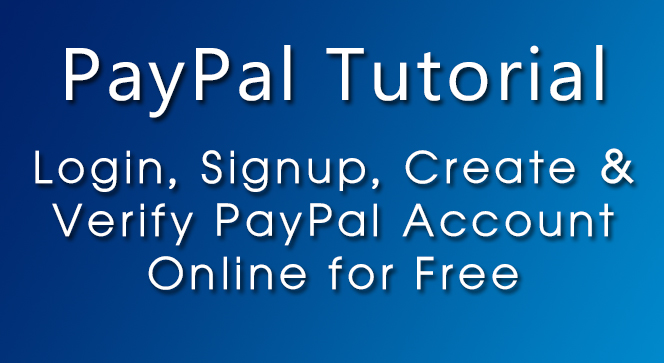 login-signup-create-verify-paypal-account-online-free