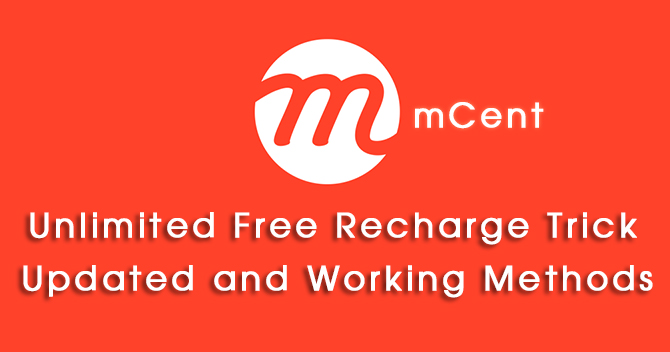 mcent-unlimited-free-recharge-trick-updated-working-methods