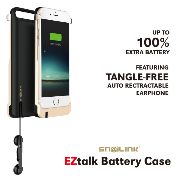 Snailink EZ Talk Battery Case for iPhone