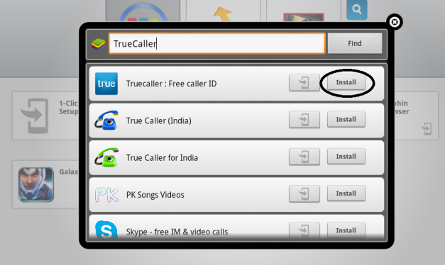 Install TrueCaller on pc