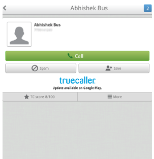 Track Mobile number-true caller app