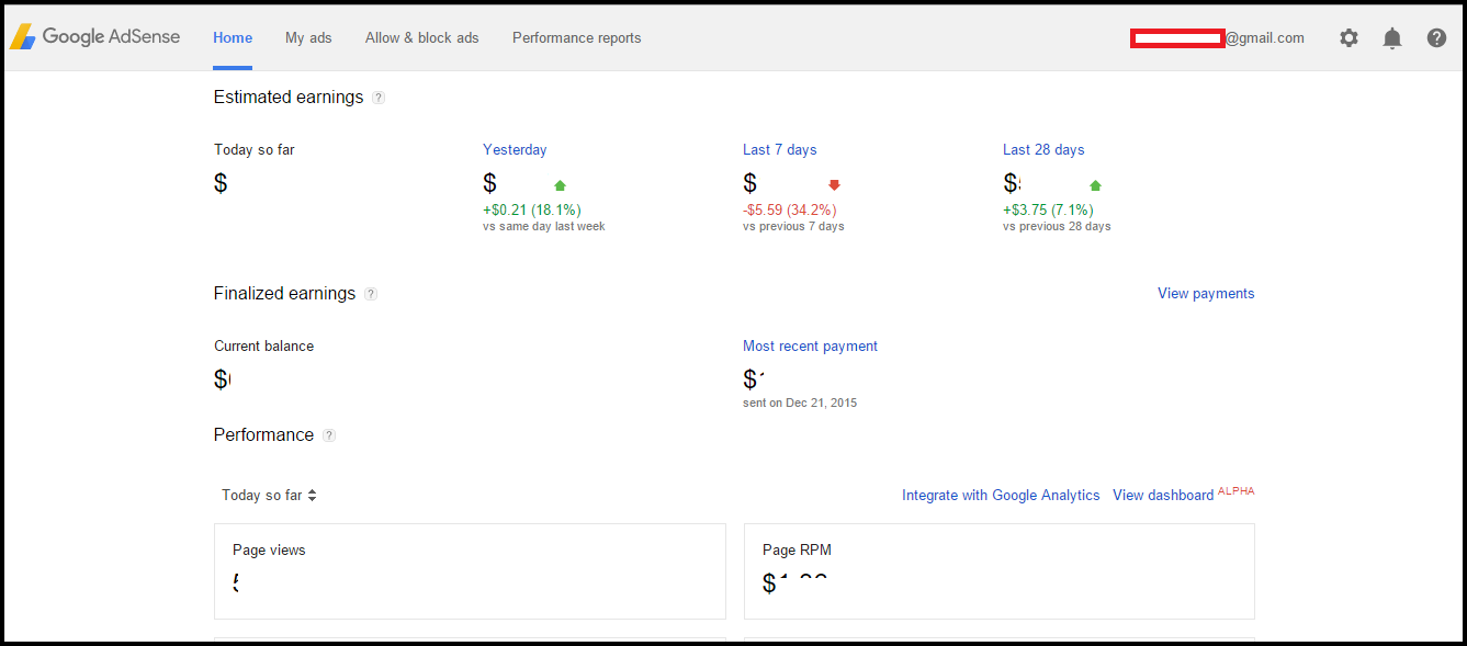 fully-approved-normal-non-hosted-adsense-account
