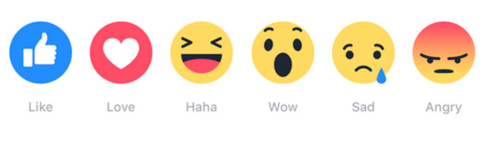 Facebook Launched Reactions emoticons worldwide