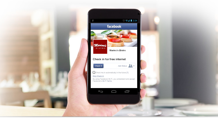 Free Wi-Fi Provided by Facebook