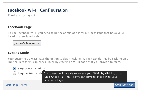 How to Set up Facebook Wi-Fi