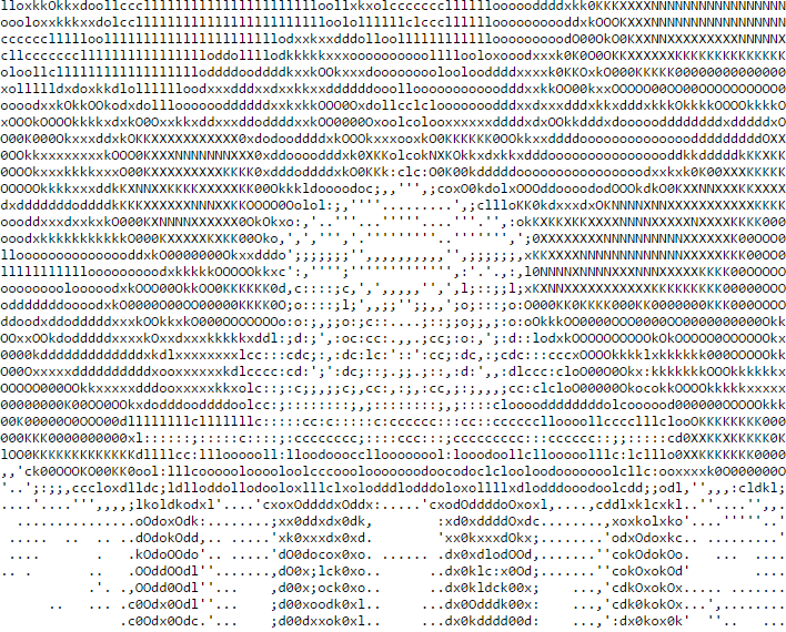 Instagram - Conversion of Normal Image into ASCII text
