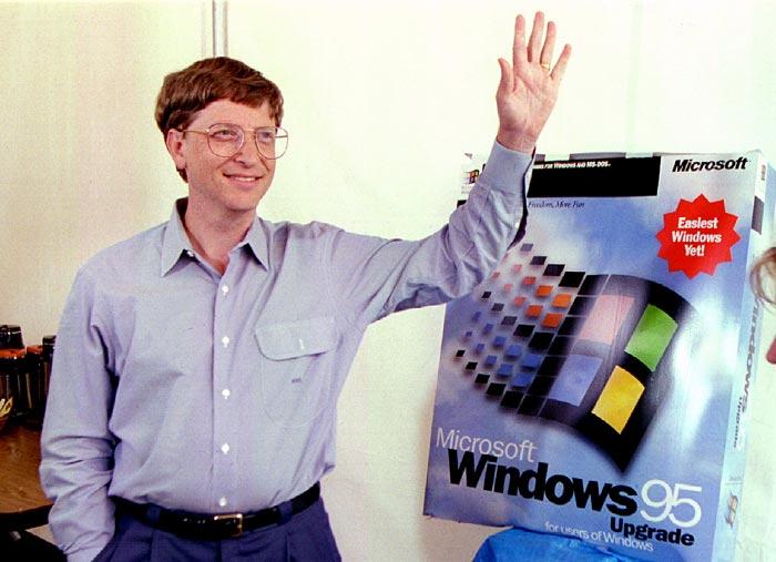 Microsoft's Windows 95