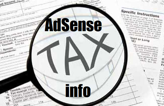 adsense-tax-information