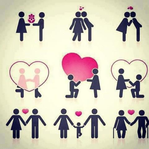 cute love couple cartoon whatsapp dp