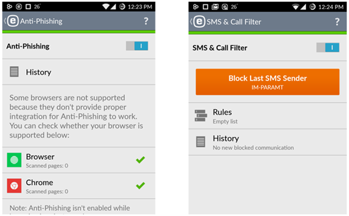 best sms call blocker android