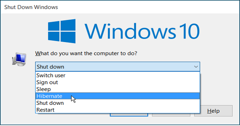 How to Enable Hibernate Mode on Windows 10-8-7 devices