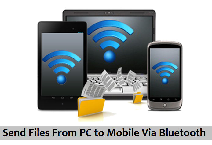 How to Transfer Files from mobile to PC via BLuetooth