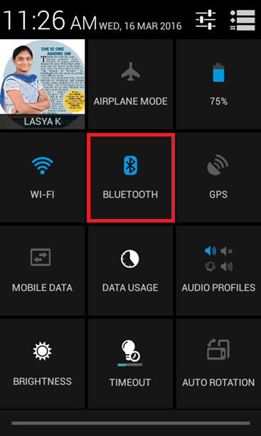 Send Files from mobile to PC via BLuetooth