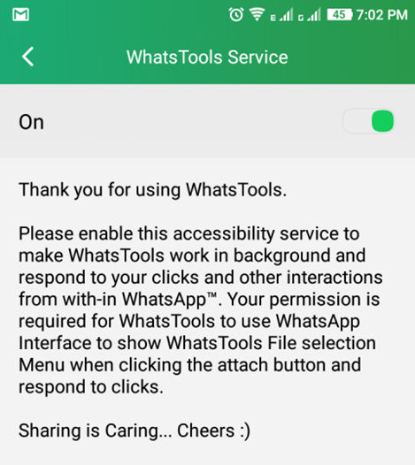 Whats Tools Service