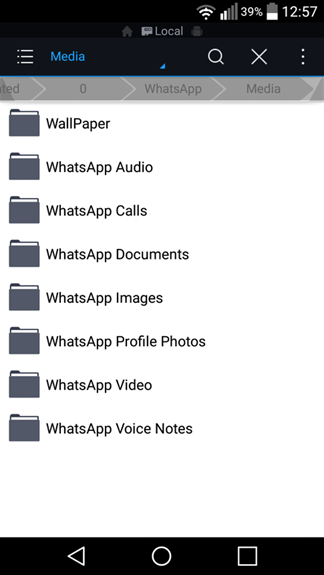 WhatsApp - Delete Images or Pictures permanently