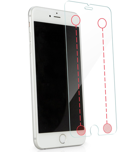 Clear Touch Smart Buttons Screen Protector for iPhone