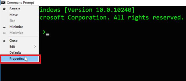 Command Prompt Tricks in Windows 10