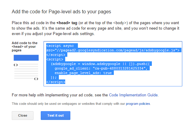 add-code-for-page-level-ads-to-your-website-blog