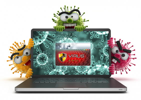 Image result for laptop virus