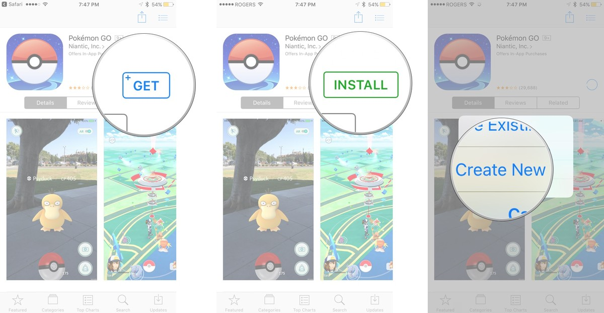 Apple-app-store,Pokemon Go for Android and iOS– Download Install and Play