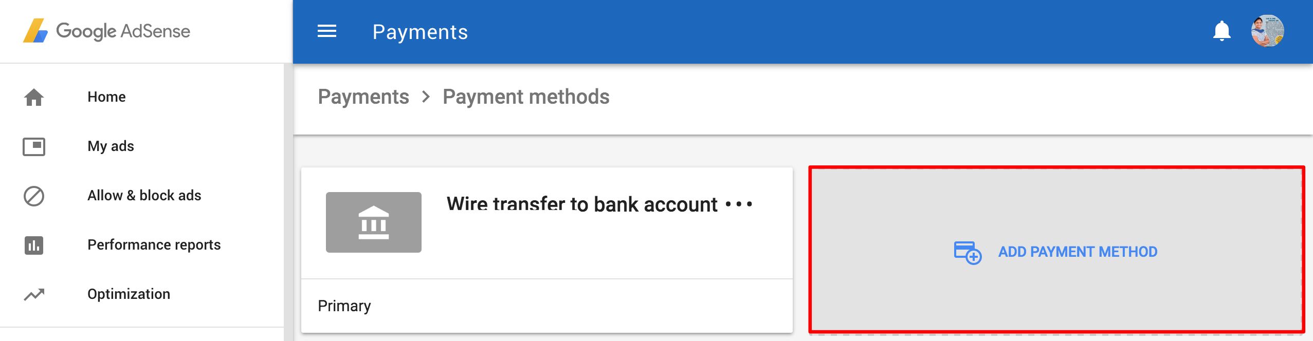 add-edit-bank-payee-name-add-payment-method-google-new-adsense-dashboard