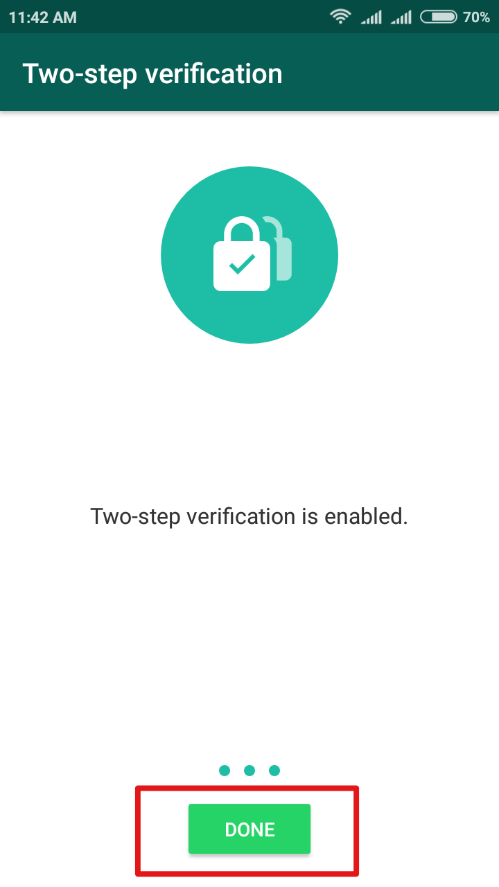 tap-done-to-enable-two-step-verification-for-whatsapp