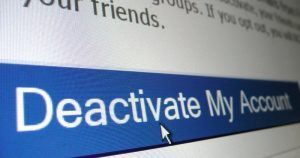 Deactivate/Delete Facebook, Gmail, Twitter And Instagram Accounts