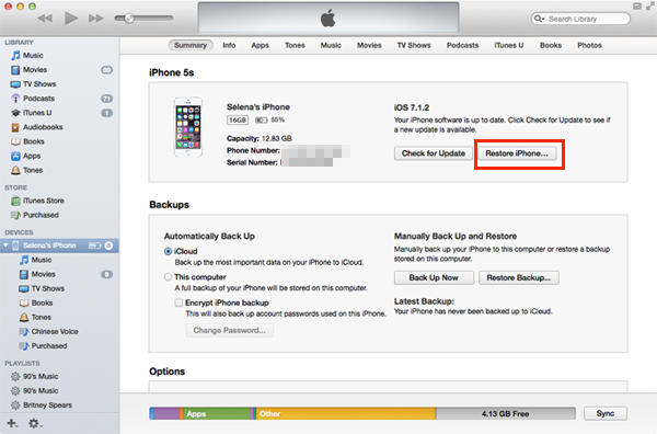 Recover Reset Iphone Ipad And Ipod Touch Password If