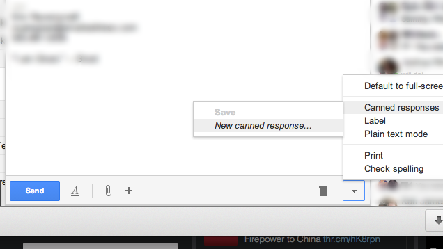 Canned Responses In Gmail