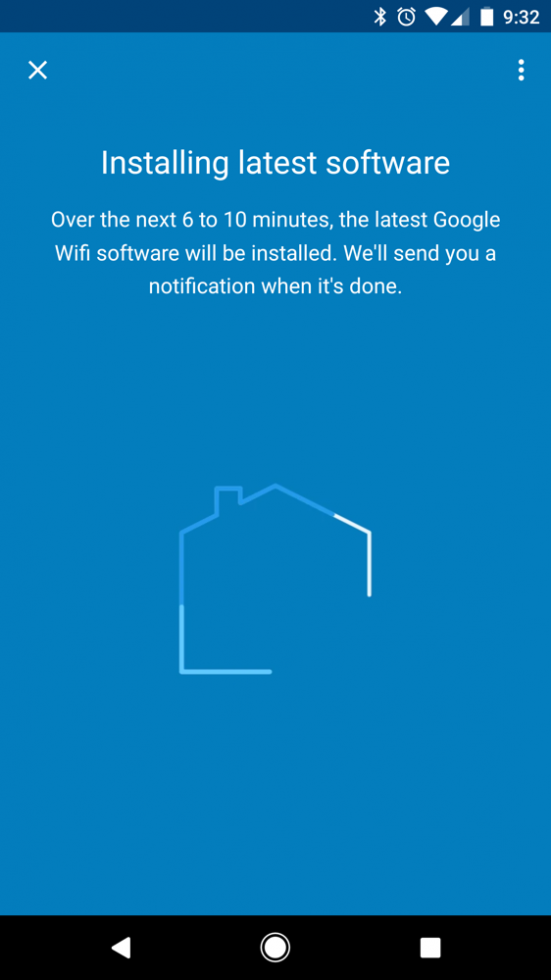 Google WiFi software installation