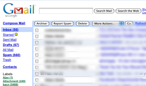 HTML Version Of Gmail