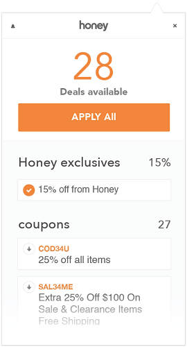 Honey Deals