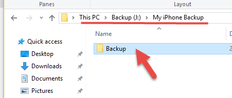 New-location-on-iTunes-backup.