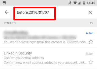 Smarter Search In Gmail