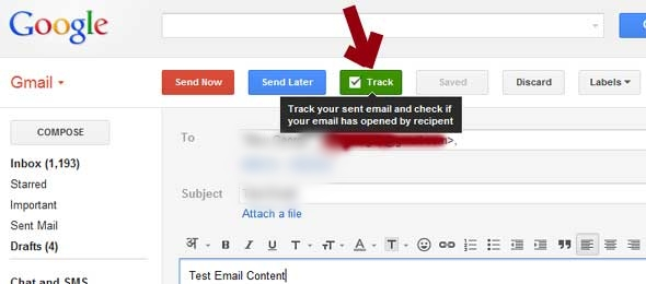 Track Gmail Emails