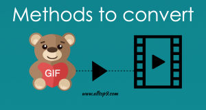 Methods to Convert a GIF to a Video for Instagram – How to