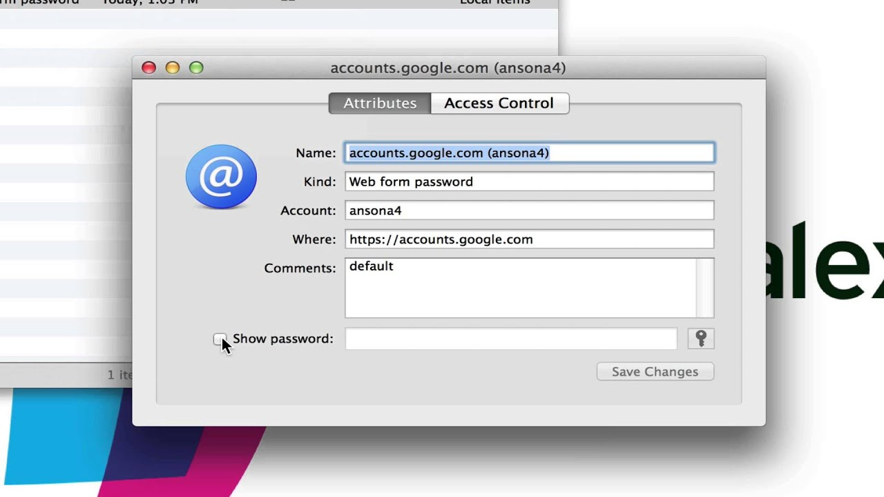 Search-KeyChain-Access