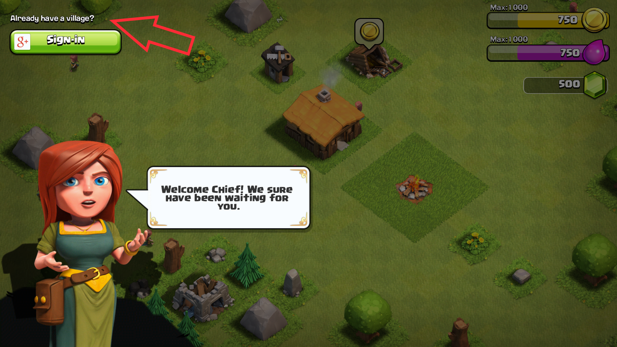 how to delete your clash of clans village