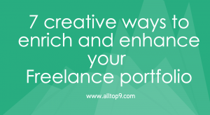 How to improve your Freelancer Portfolio in 7 Steps