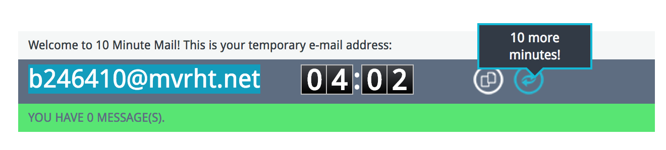 give-more-time-disposable-email-id