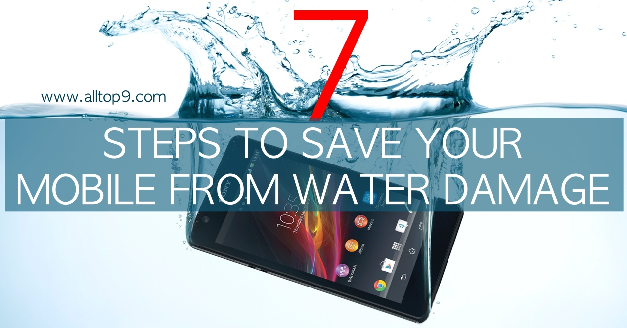Sony-Xperia-ZR-Agua-dropped-in-water