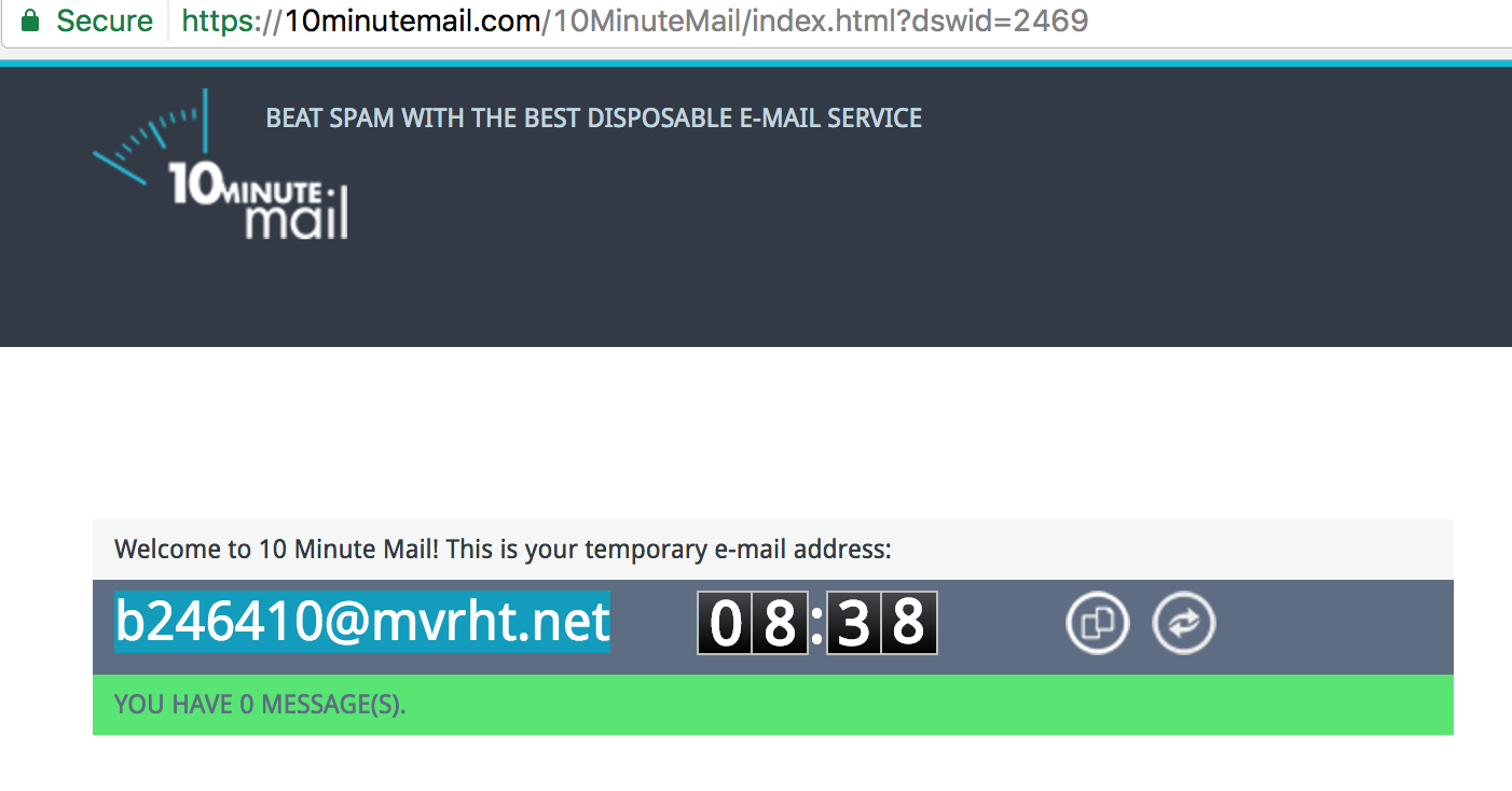 create-disposable-email-address-10-minutes-mail